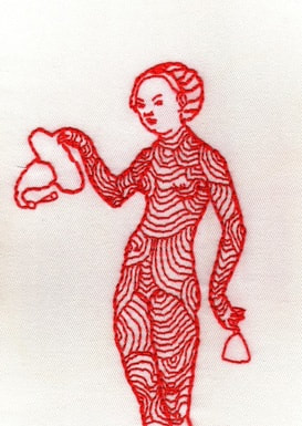 Picture, embroidery, kelly, pretty, lucas cranach,